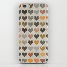 Hearts iPhone Skin