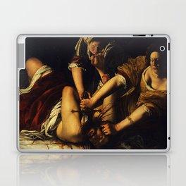 JUDITH BEHEADING HOLOFERNES - GENTILESCHI Laptop & iPad Skin