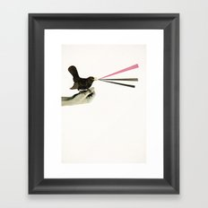 Bird in the Hand Framed Art Print