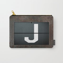 monogram schedule j Carry-All Pouch