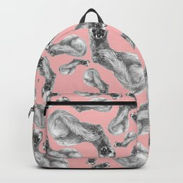 Siberian Weasel Kolinsky Backpack