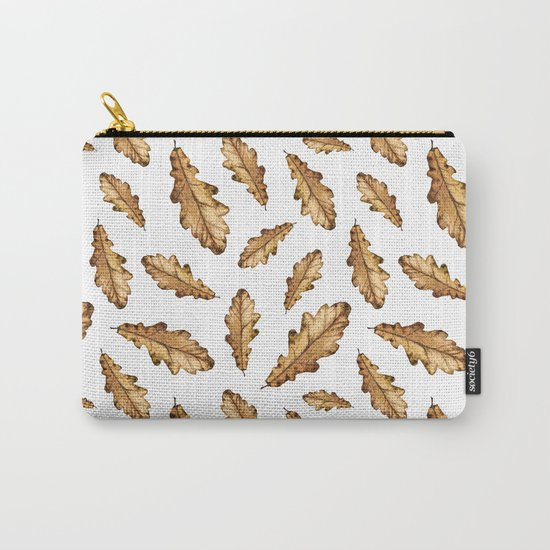 Autumn Leaves Pattern 01 Carry-All Pouch