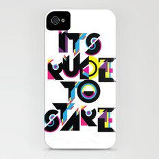 It's Rude To Stare iPhone (4, 4s) Slim Case