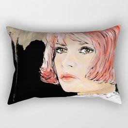 Pink Bardot Rectangular Pillow