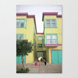 """Doggy Treat"" Canvas Print"