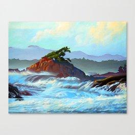 Wild West Coast Canvas Print