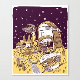 Giant Hippy Canvas Print