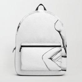 Clara (bw) Backpack