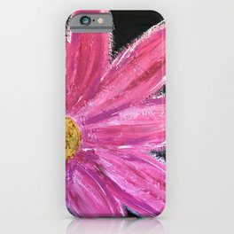 BE A BOLD FLOWER iPhone Case
