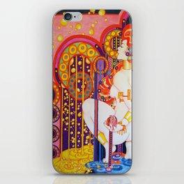 Red Head Klimt iPhone Skin