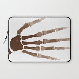 Isolated Boney Hand Laptop Sleeve