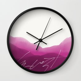 Kust Calling Card Wall Clock