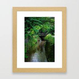 Kyoto Canal II Framed Art Print