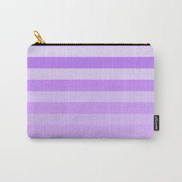Purple Stripes Fade Carry-All Pouch