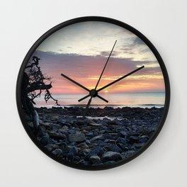 Jekyll Island Sunrise Wall Clock