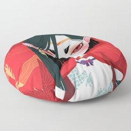 Bitch Please: Sailor Mars Floor Pillow
