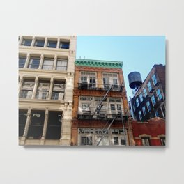 Looking up around SoHo in NYC Metal Print