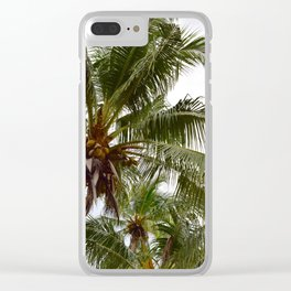 Costa Palms Clear iPhone Case