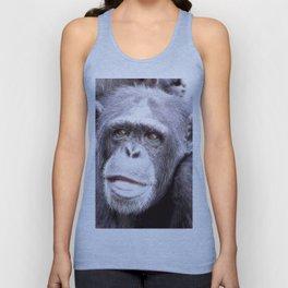 extraordinary animals -Chimp Unisex Tank Top