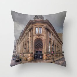 The Old Financial District Throw Pillow