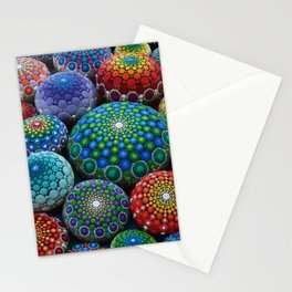 Jewel Drop Mandala Stone Collection #1 Stationery Cards