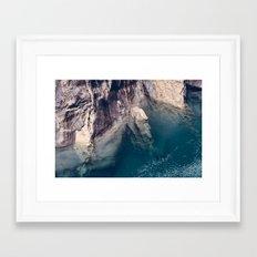 Blue Pool Framed Art Print