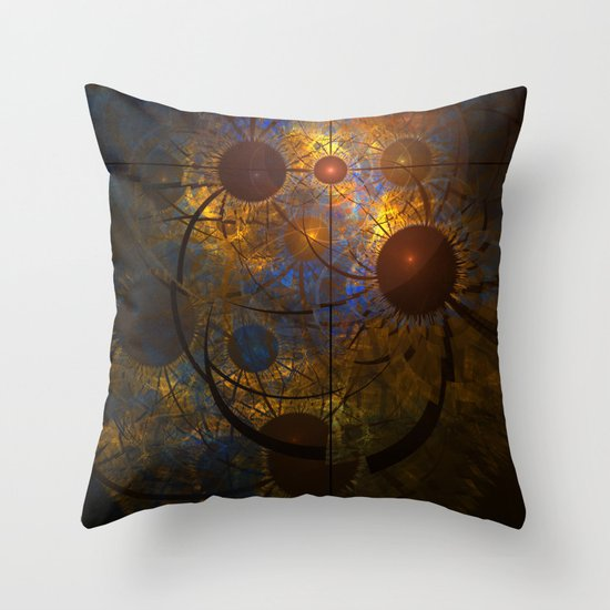 Signs in the Heavens Throw Pillow