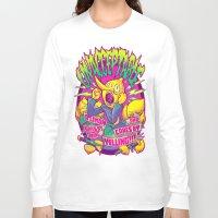 lemongrab Long Sleeve T-shirts featuring LEMONGRAB: UNACCEPTABLE by BeastWreck