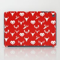 skulls iPad Cases featuring Skulls by Suzz in Colour