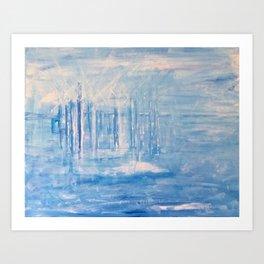 Sea Power (Turbines II) Art Print