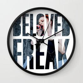 Garbage - 'Beloved Freak' Wall Clock