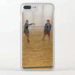 Playground Love Clear iPhone Case