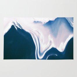 Distorted Mountains II Rug