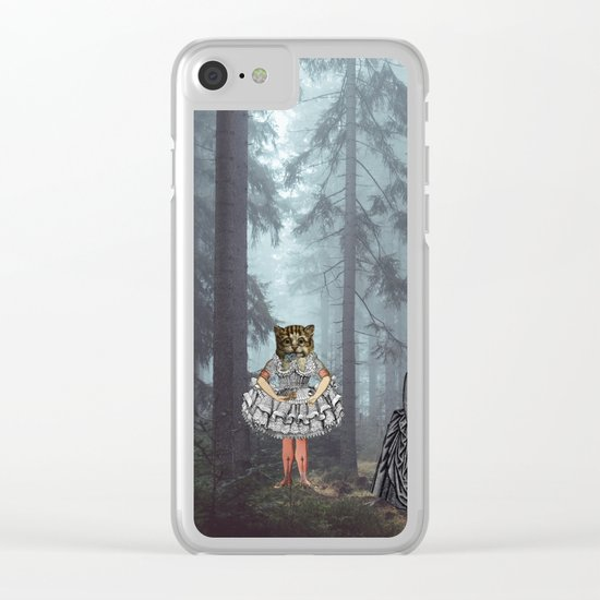 KID'S EATERS Clear iPhone Case