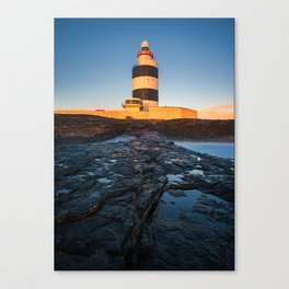 Hook Lighthouse - Ireland(RR208) Canvas Print