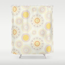 Suzani inspiration Shower Curtain