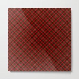 Scottish Fabric High Resolution Metal Print