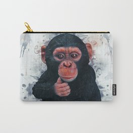 Chimpanzee Art Carry-All Pouch