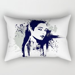A Girl Rectangular Pillow