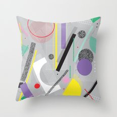 EIGHTIESLOVE Throw Pillow