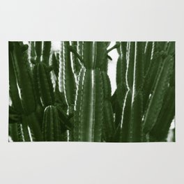 Vintage Cactus Print II Rug