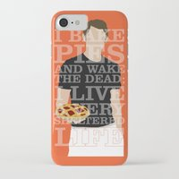 pushing daisies iPhone & iPod Cases featuring Pushing Daisies - Ned by MacGuffin Designs