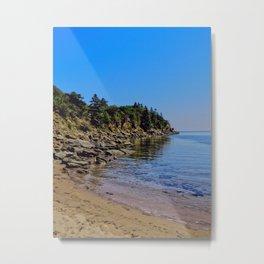 Rocky Coastline Metal Print