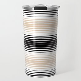 Deconstructed Serape in Tan Travel Mug