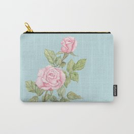 Garden Roses in Bloom Carry-All Pouch