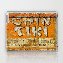 Chin Tiki Wall  Laptop & iPad Skin