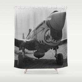 P-40 Warhawk Shower Curtain