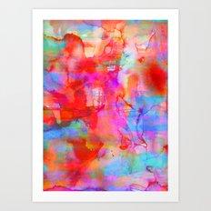 Dreaming Art Print