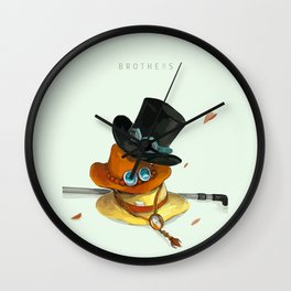 Brothers Wall Clock