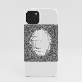 DP RAM abstract line art by melisssne iPhone Case